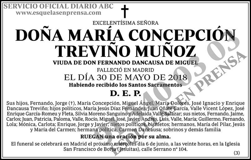 María Concepción Treviño Muñoz